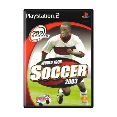 Jogo World Tour Soccer 2003 - PS2