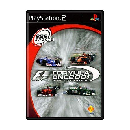 Jogo Formula One 2001 - PS2