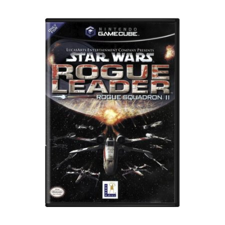 Jogo Star Wars: Rogue Squadron II - Rogue Leader - GameCube