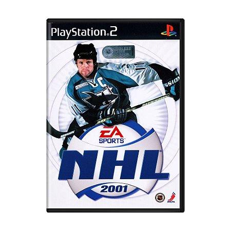 Jogo NHL 2001 - PS2