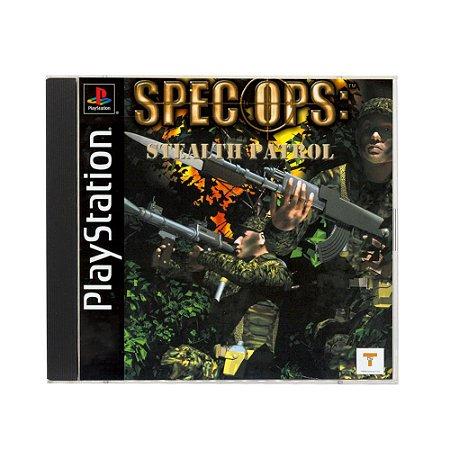 Jogo Spec Ops: Stealth Patrol - PS1