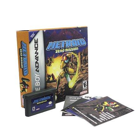 Jogo Metroid: Zero Mission - GBA