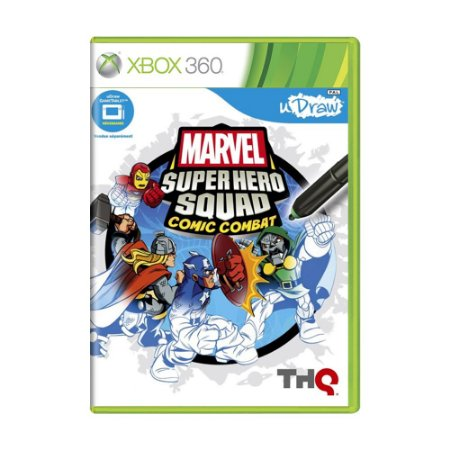 Jogo Marvel Super Hero Squad: Comic Combat - Xbox 360