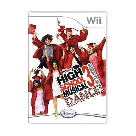Jogo High School Musical 3: Senior Year DANCE! - Wii