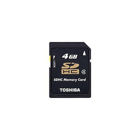 Cartão de Memória 4GB SDHC - Toshiba