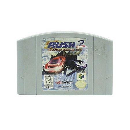 Jogo Rush 2: Extreme Racing USA - N64