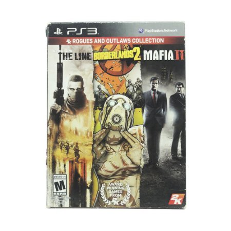 Jogo Spec Ops: The Line + Borderlands 2 + Mafia II (Rogues and Outlaws Collection) - PS3