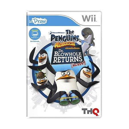 Jogo The Penguins of Madagascar: Dr. Blowhole Returns - Again! - Wii