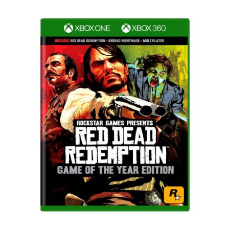 Jogo Red Dead Redemption: Game of The Year Edition - Xbox One e Xbox 360