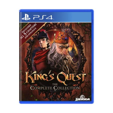 Jogo King's Quest (The Complete Collection) - PS4