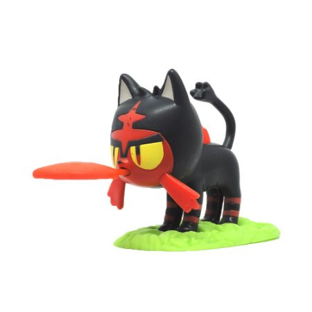 Boneco Colecionável Litten - Pokémon Sun and Moon