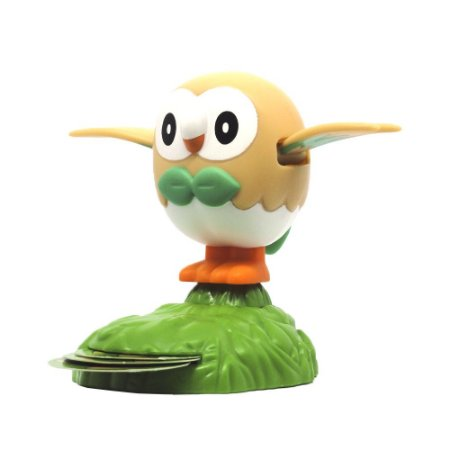 Boneco Colecionável Rowlet - Pokémon Sun and Moon