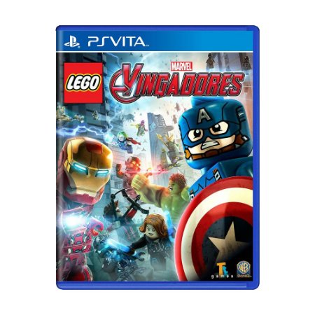 Jogo LEGO Marvel Vingadores - PS Vita