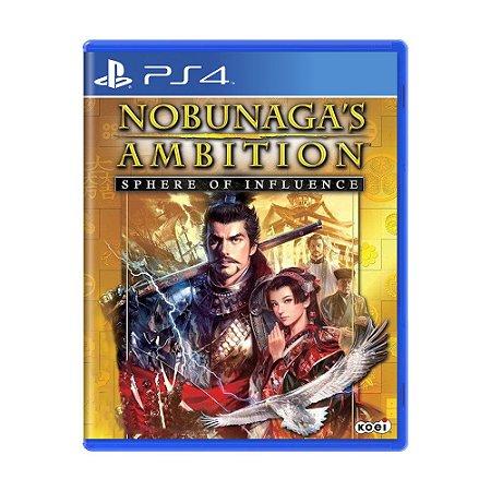 Jogo Nobunaga's Ambition: Sphere of Influence - PS4