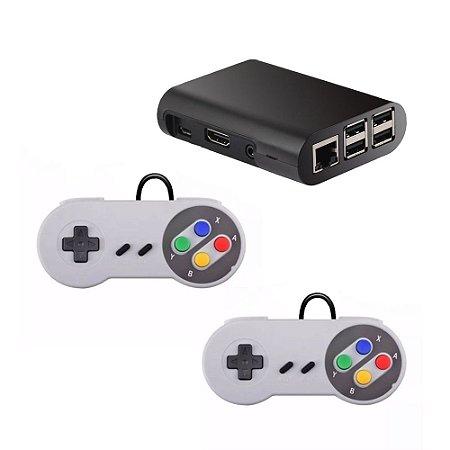 Mini Vídeo Game Retro Raspberry + Controles