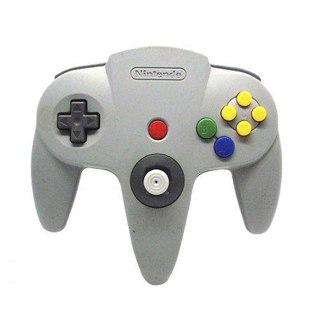Controle Nintendo 64 Cinza - Nintendo