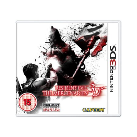 Jogo Resident Evil: The Mercenaries 3D - 3DS (Europeu)
