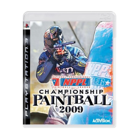 Jogo NPPL Championship Paintball 2009 - PS3