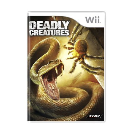 Jogo Deadly Creatures - Wii