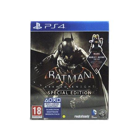 Jogo Batman: Arkham Knight (SteelCase) - PS4