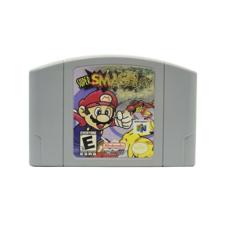 Jogo Super Smash Bros - N64