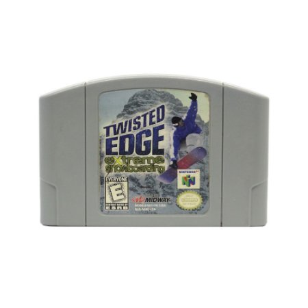Jogo Twisted Edge Extreme Snowboarding - N64