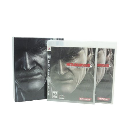 Jogo Metal Gear Solid 4: Guns of the Patriots + Disco Bônus - PS3