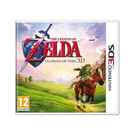 Jogo The Legend of Zelda: Ocarina of Time 3D - 3DS (Europeu)