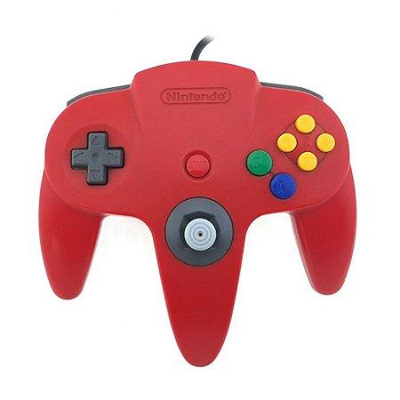 Controle Nintendo 64 Vermelho - Nintendo
