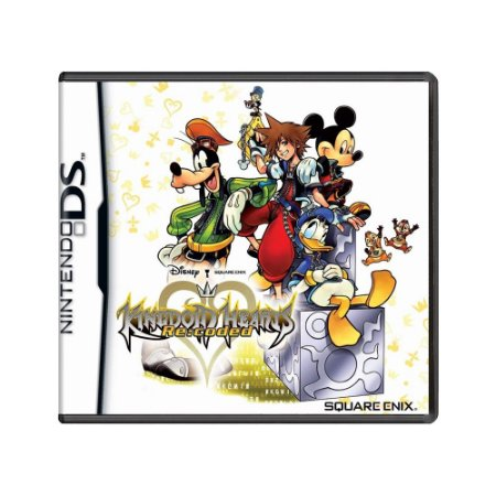 Jogo Kingdom Hearts Re:coded - DS