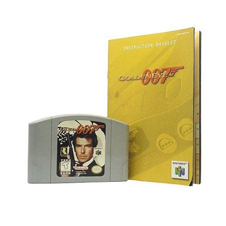 Jogo GoldenEye 007 - N64