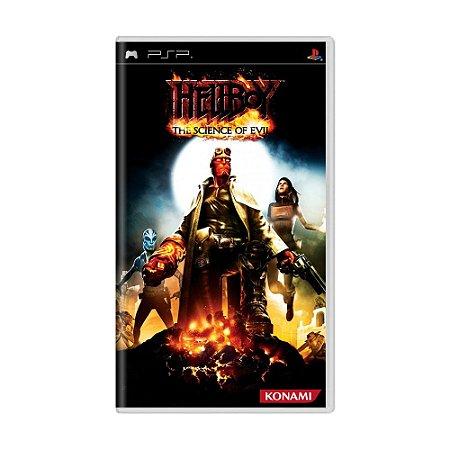 Jogo Hellboy: The Science of Evil - PSP