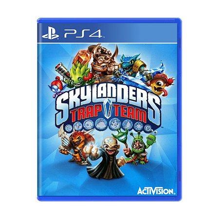 Jogo Skylanders Trap Team - PS4