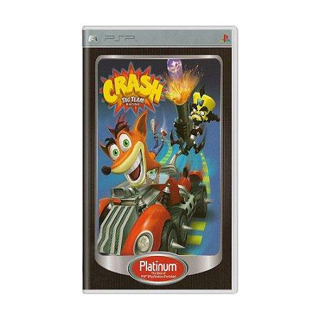 Jogo Crash Tag Team Racing - PSP