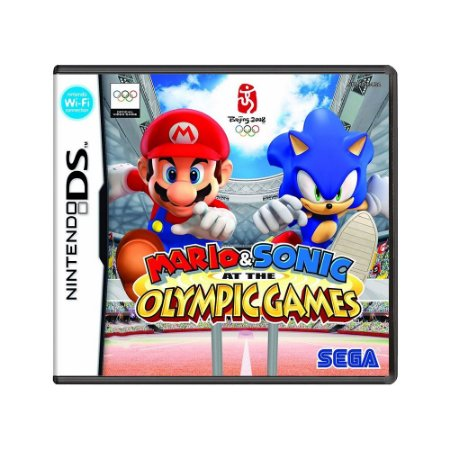 Jogo Mario & Sonic at the Olympic Games - DS