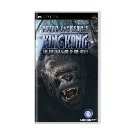 Jogo Peter Jackson's King Kong: The Official Game of the Movie - PSP