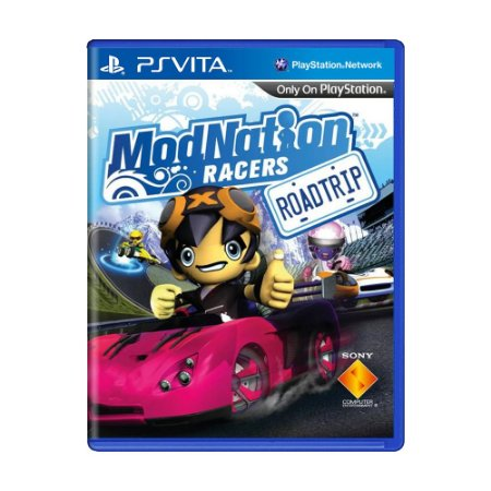 Jogo ModNation Racers: Roadtrip - PS Vita