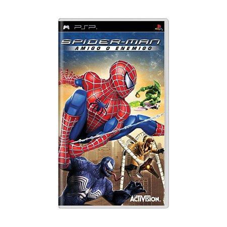 Jogo Spider-Man: Amigo o Enemigo - PSP