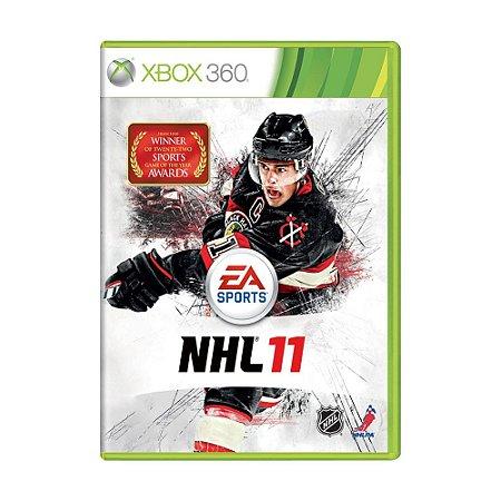 Jogo NHL 11 - Xbox 360