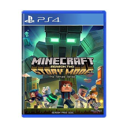 Jogo Minecraft: Story Mode (Season Two) - PS4