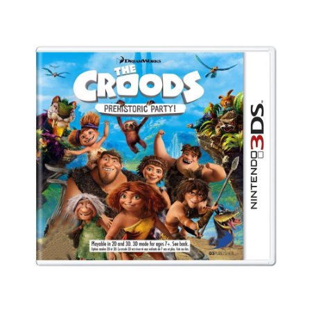 Jogo The Croods: Prehistoric Party - 3DS