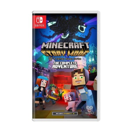 Jogo Minecraft: Story Mode - The Complete Adventure - Switch