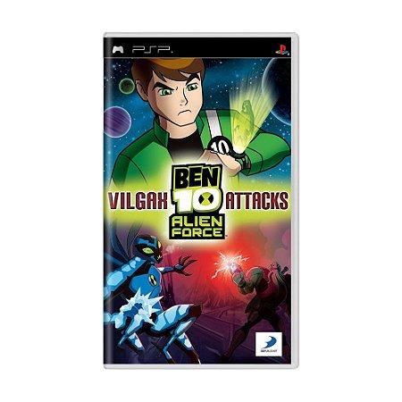 Jogo Ben 10 Alien Force: Vilgax Attacks - PSP