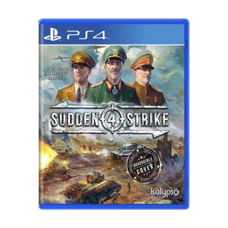 Jogo Sudden Strike 4 - PS4