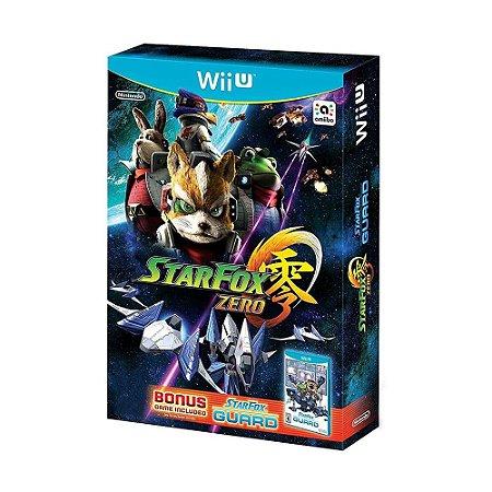 Jogo Star Fox Zero + Star Fox Guard - Wii U