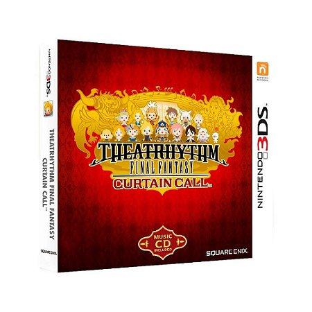 Jogo Theatrhythm Final Fantasy: Curtain Call + Trilha Sonora - 3DS