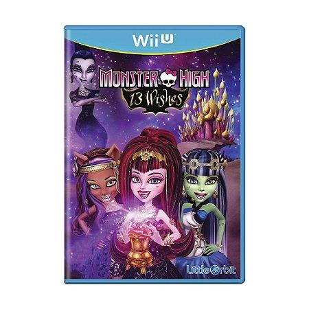 Jogo Monster High: 13 Wishes - Wii U