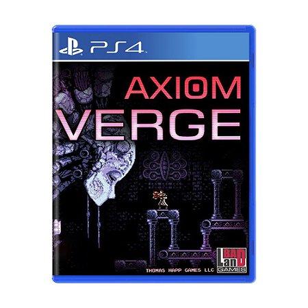 Jogo Axiom Verge - PS4