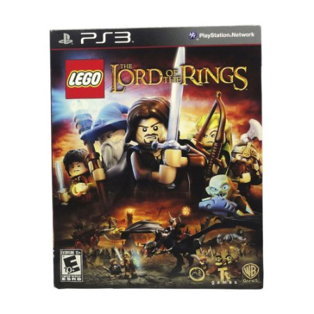 Jogo LEGO The Lord of the Rings + Filme - PS3