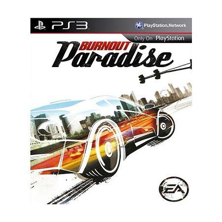 Jogo Burnout Paradise - PS3 (Capa Dura)